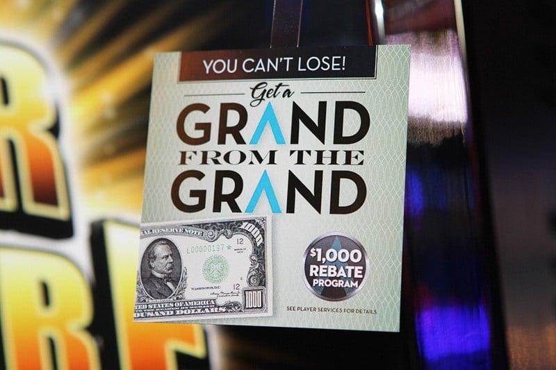 Downtown Grand $1,000 rebate