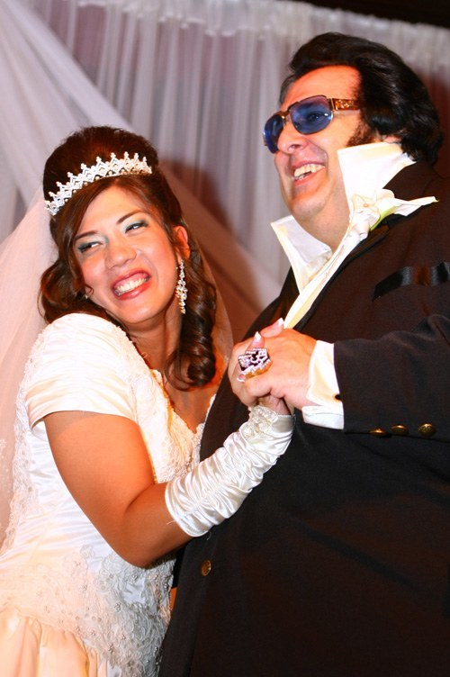 Big Elvis wedding