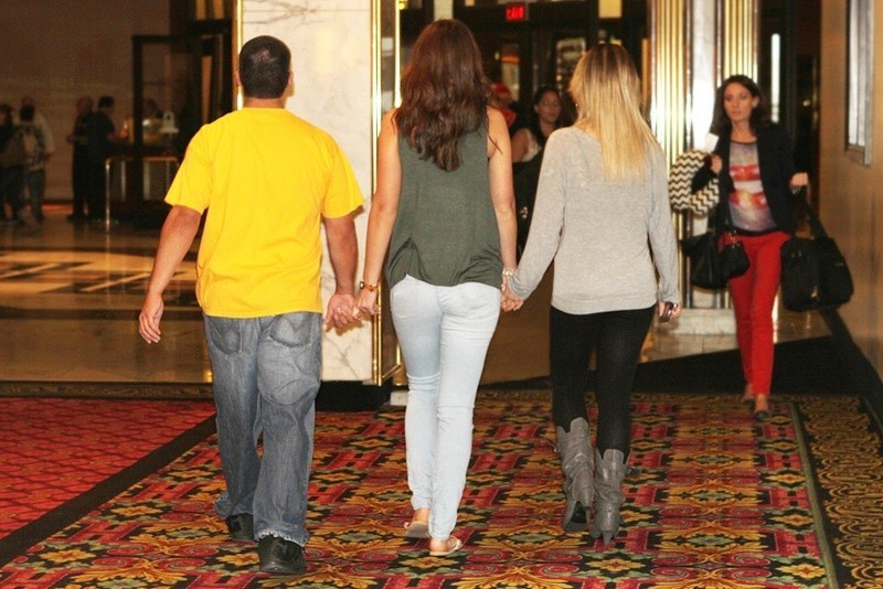 Las Vegas threesome