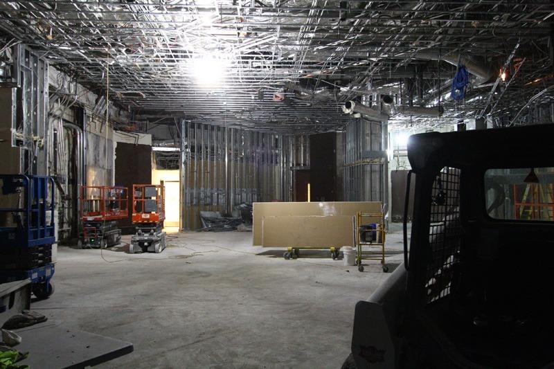 Book & Stage demolition