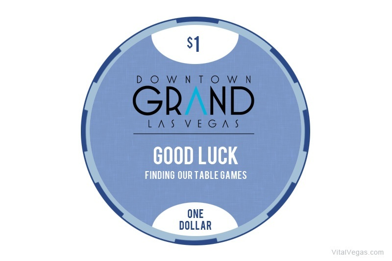 Downtown Grand casino chip