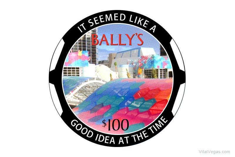 Bally's casino chip