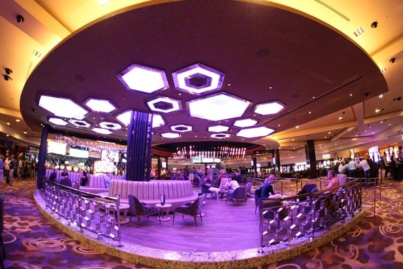 Hard Rock Center Bar lounge