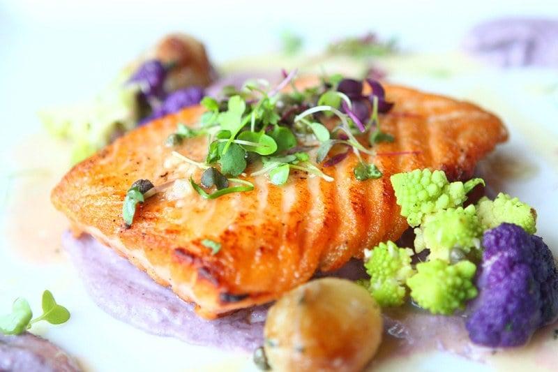 Nove pan-seared fish
