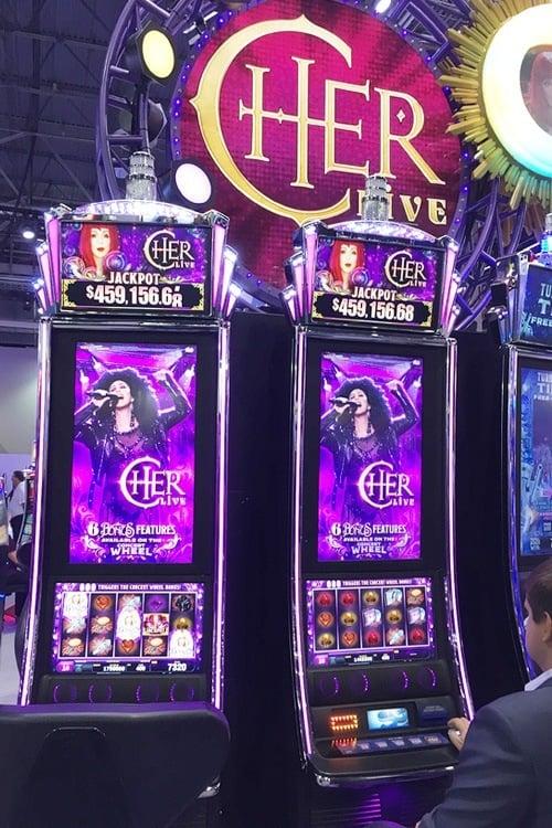 Slot machine industry