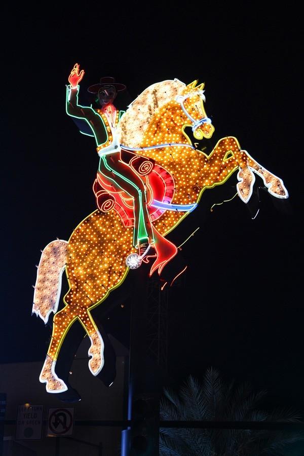 Las Vegas headless horseman