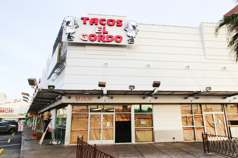 "Tacos El Gordo is back! How do you say ""Pavlovian response"" in Spanish."