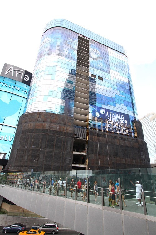 Harmon tower demolition