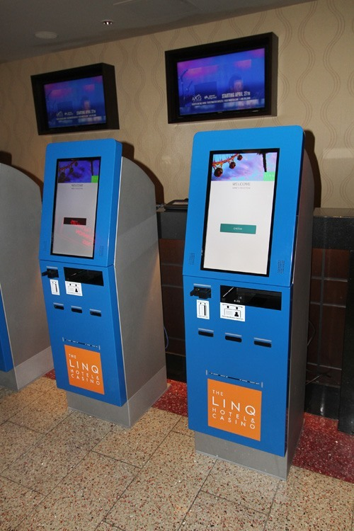 Linq Hotel Rolls Out Innovative New Check-In Kiosks