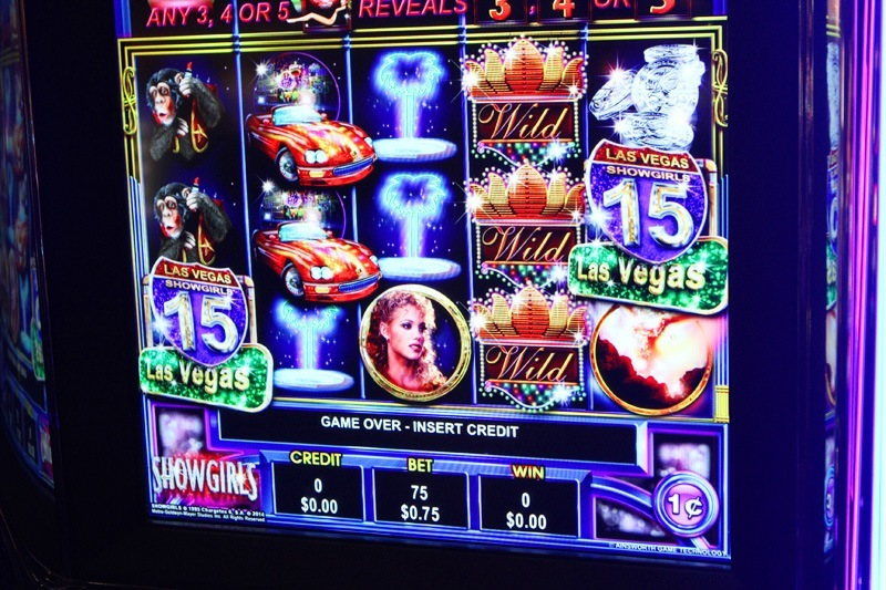 Showgirls slot machine