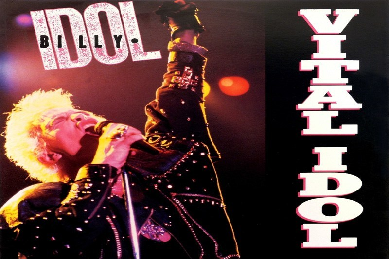 Vital Idol album cover