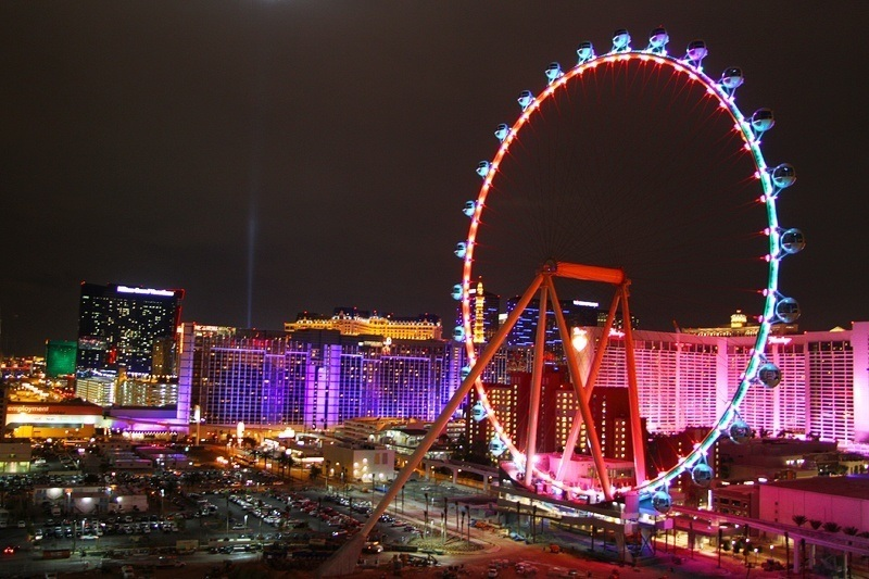 High Roller Las Vegas Ferris wheel