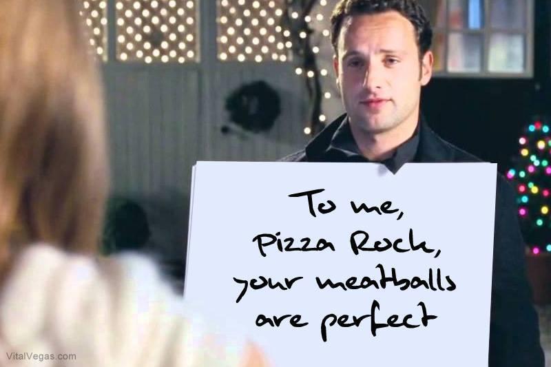 Pizza Rock meatballs