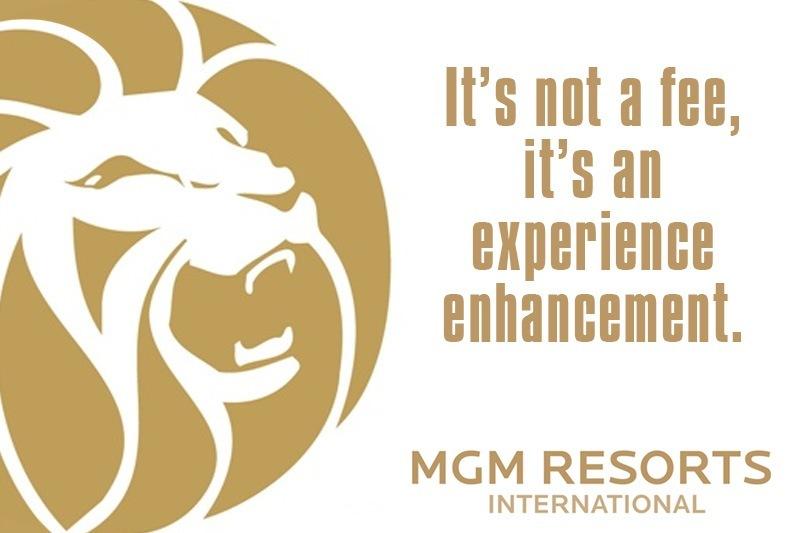 MGM Resorts parking fee