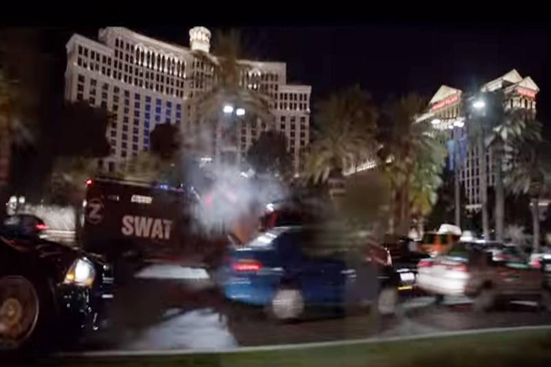 Jason Bourne trailer Vegas