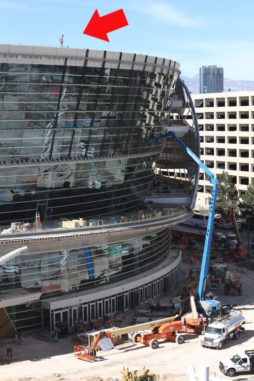 Las Vegas Arena video mesh