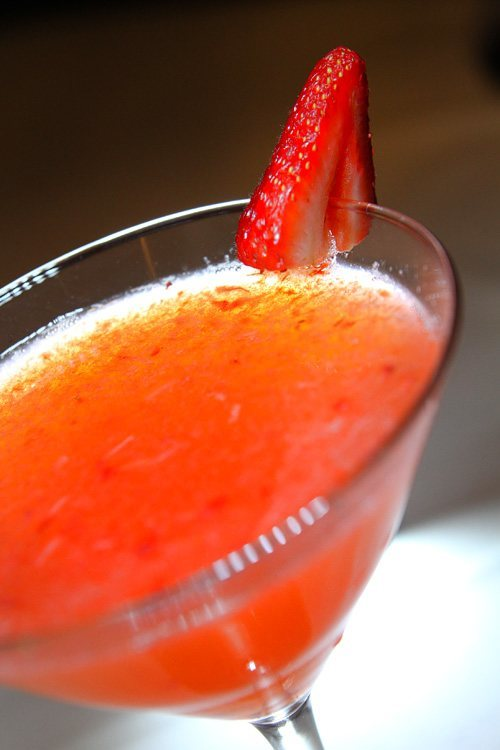 Edge Steakhouse cocktail
