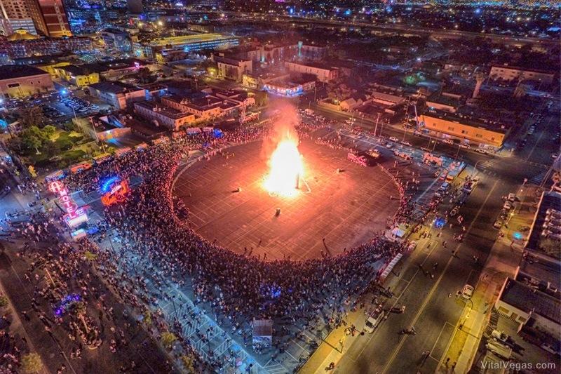 Life Cube burn Las Vegas
