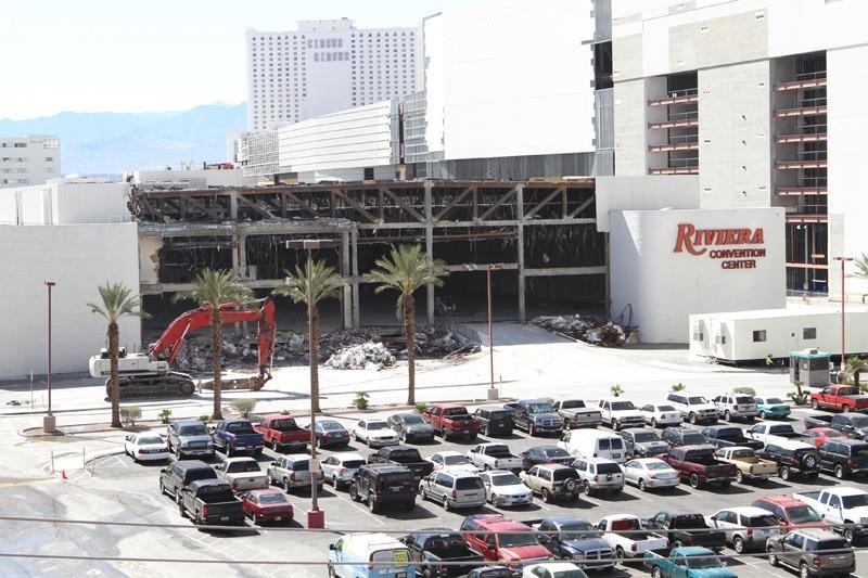 Riviera demolition implosion