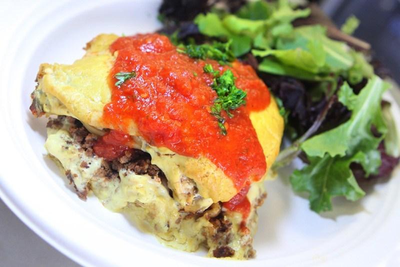 Simply Pure lasagna