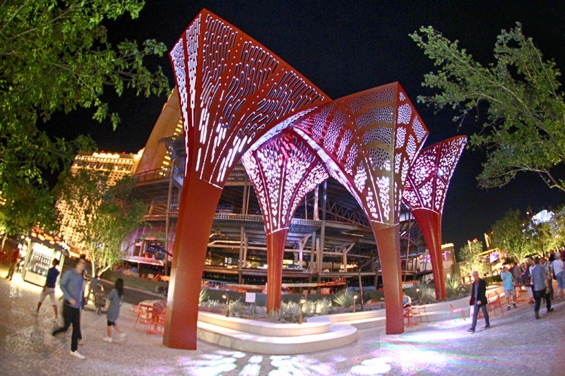 The Park shade structures