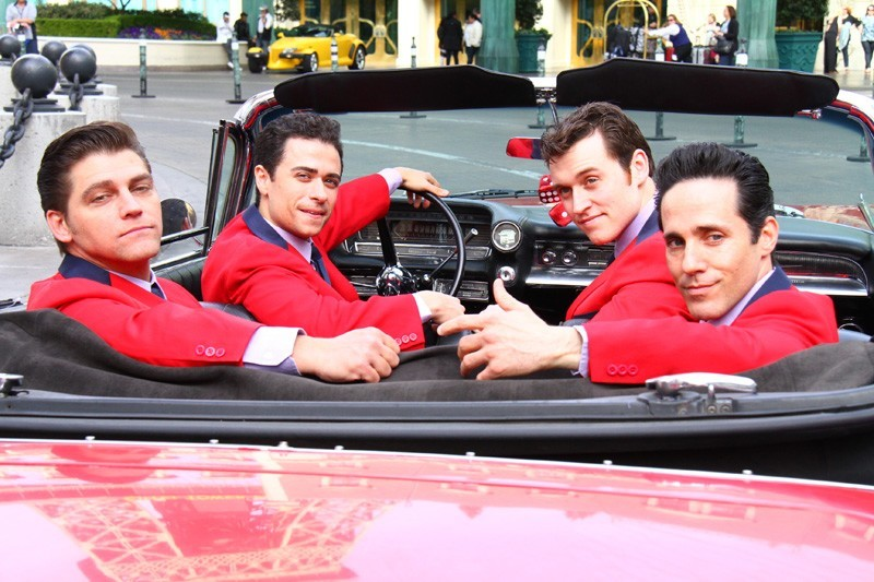 Jersey Boys Paris Las Vegas