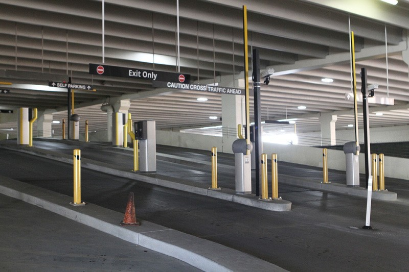 Paid parking Las Vegas