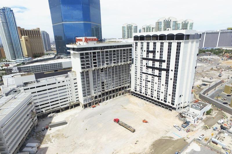 Riviera Las Vegas demolition