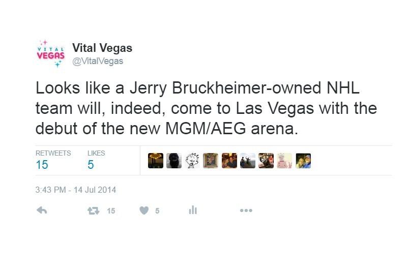 Vital Vegas Tweet