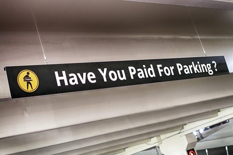 Paid parking MGM Resorts