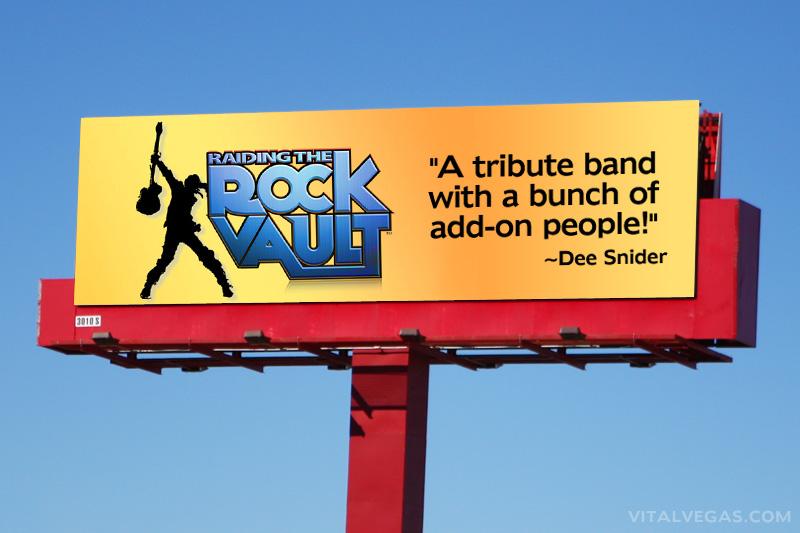 Raiding the Rock Vault billboard