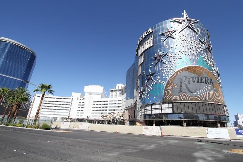 Riviera demolition