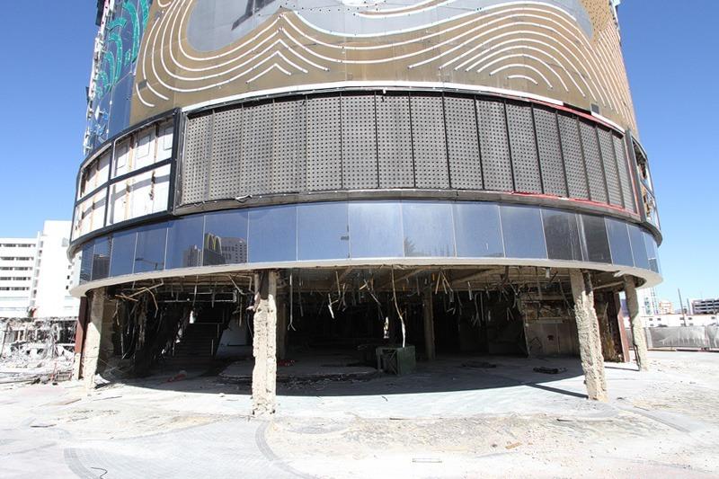 Riviera food court demolition