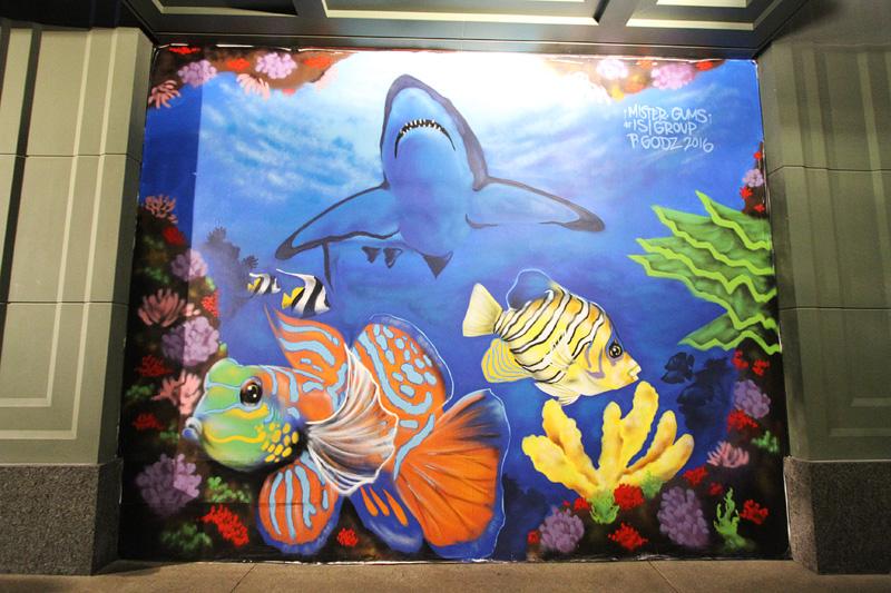 Linq murals