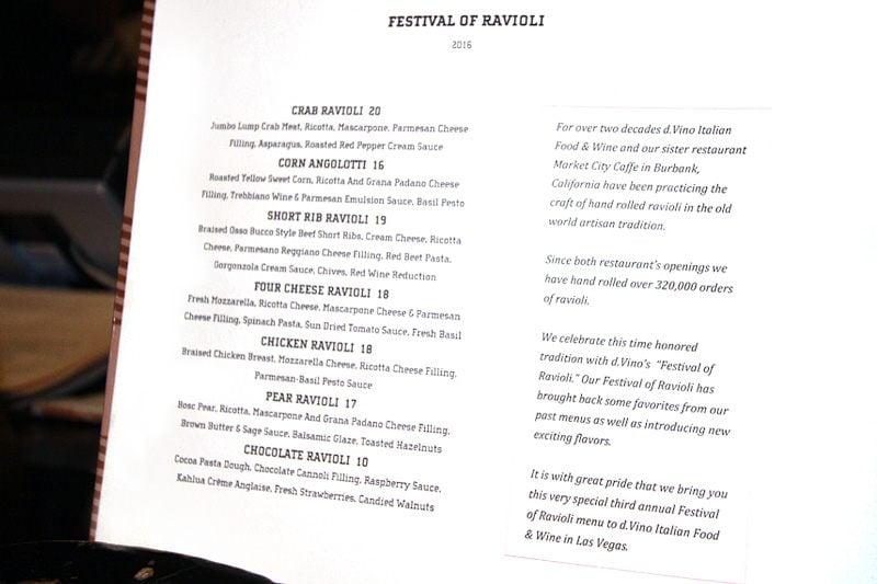 D.Vino ravioli festival