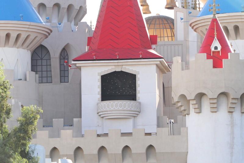 Excalibur facade