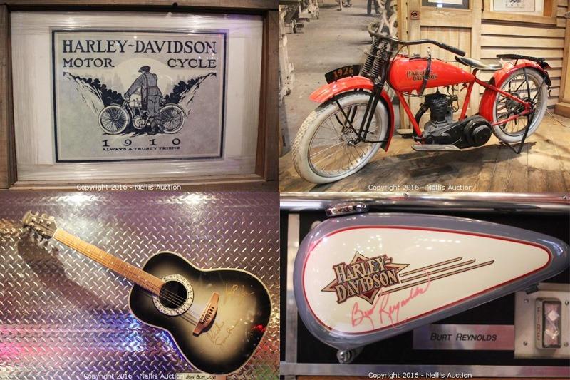 Harley-Davidson Cafe memorabilia