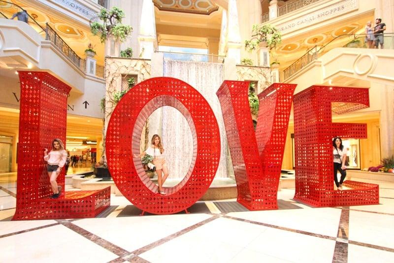 Love statue Venetian
