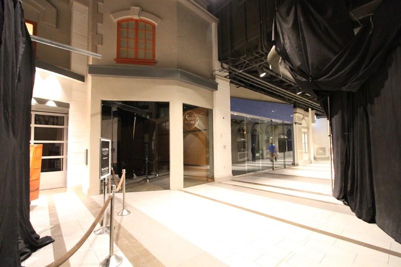 Monte Carlo shops closed