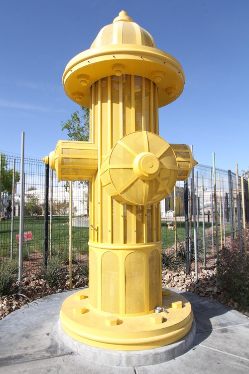 World's largest fire hydrant