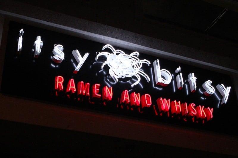 Itsy Bitsy Ramen Whiskey