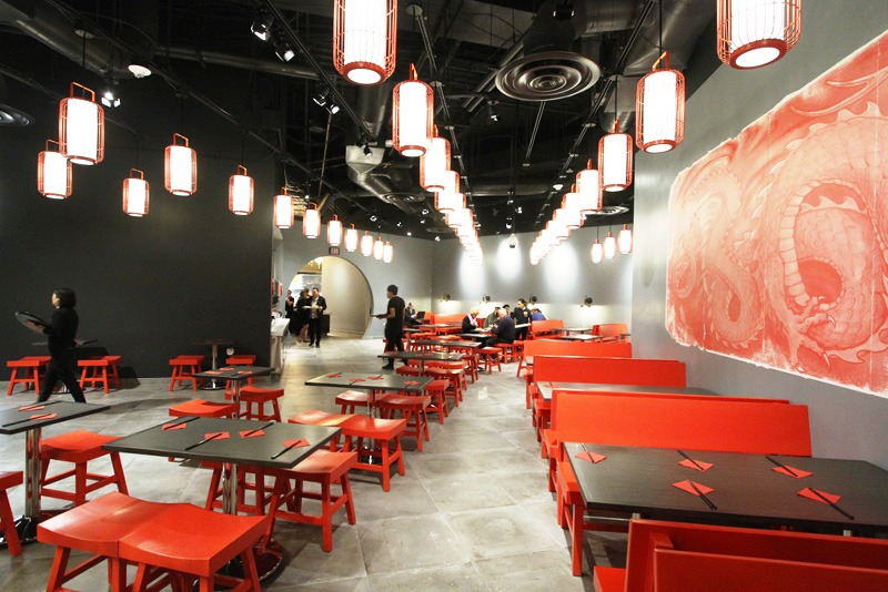 Lucky Dragon food court