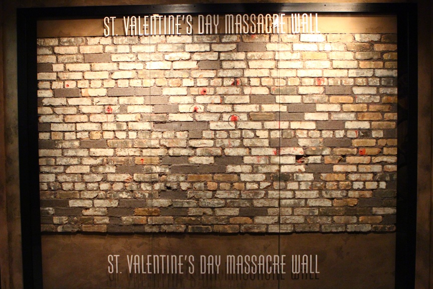 Mob Museum St. Valentine's Day massacre