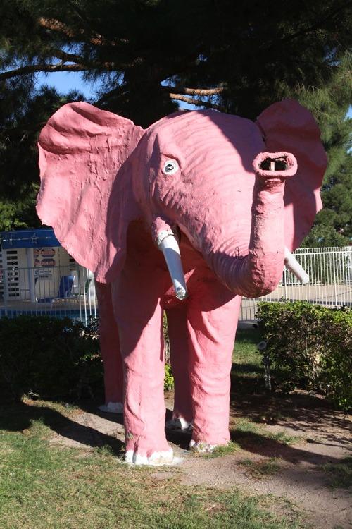 Pink elephant Las Vegas