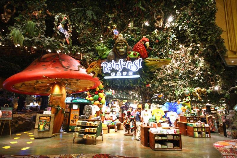 Rainforest Cafe MGM Grand