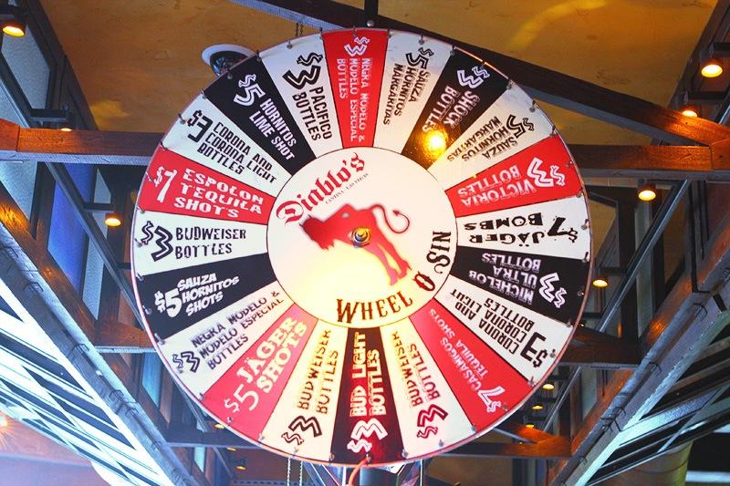 Diablo's Cantina wheel