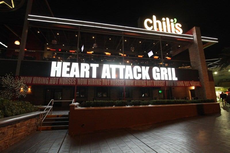 Heart Attack Grill Strip