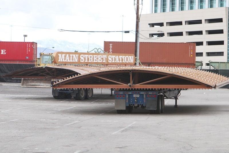 Downtown Las Vegas trains