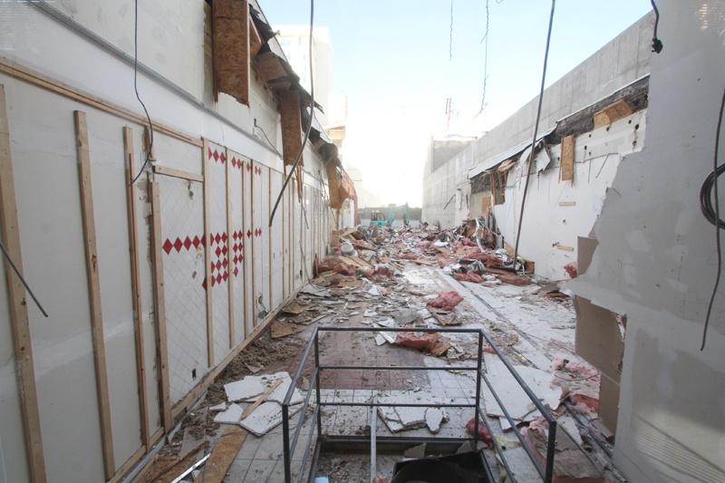 18 Fremont demolition
