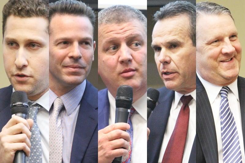 Five casino bosses